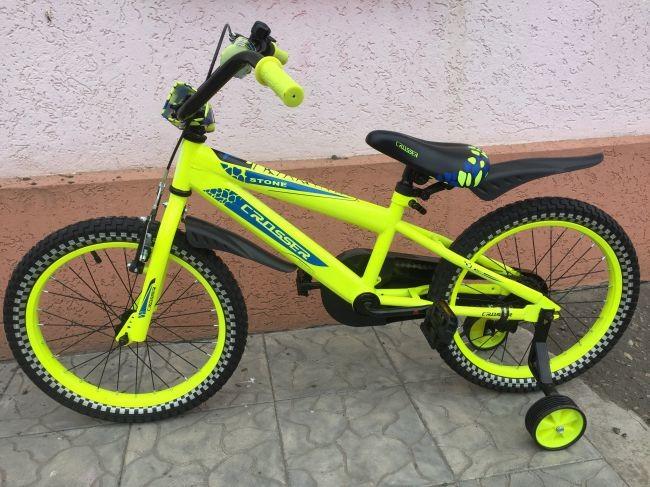 Кросер стоун 14 16 20 crosser stone велосипед двухколесный детский фото №1