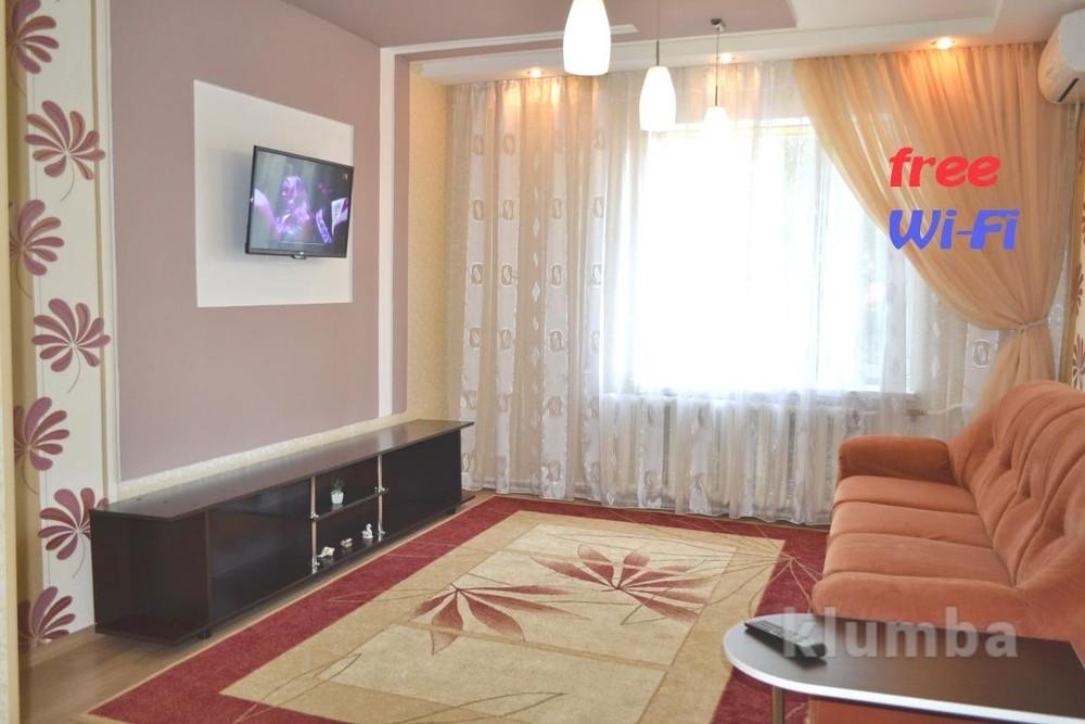 Посуточно квартира с евроремонтом на победе-4 фото №1