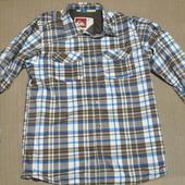 Эффектная легкая  курточка в рубашечном стиле Quiksilver Tech Layering
