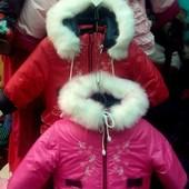 Зимние комбинезоны девочкам - большой выбор