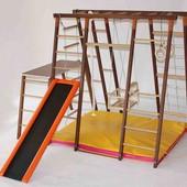 Лидер - полнокомплектный деревянный спорткомплекс из ясеня