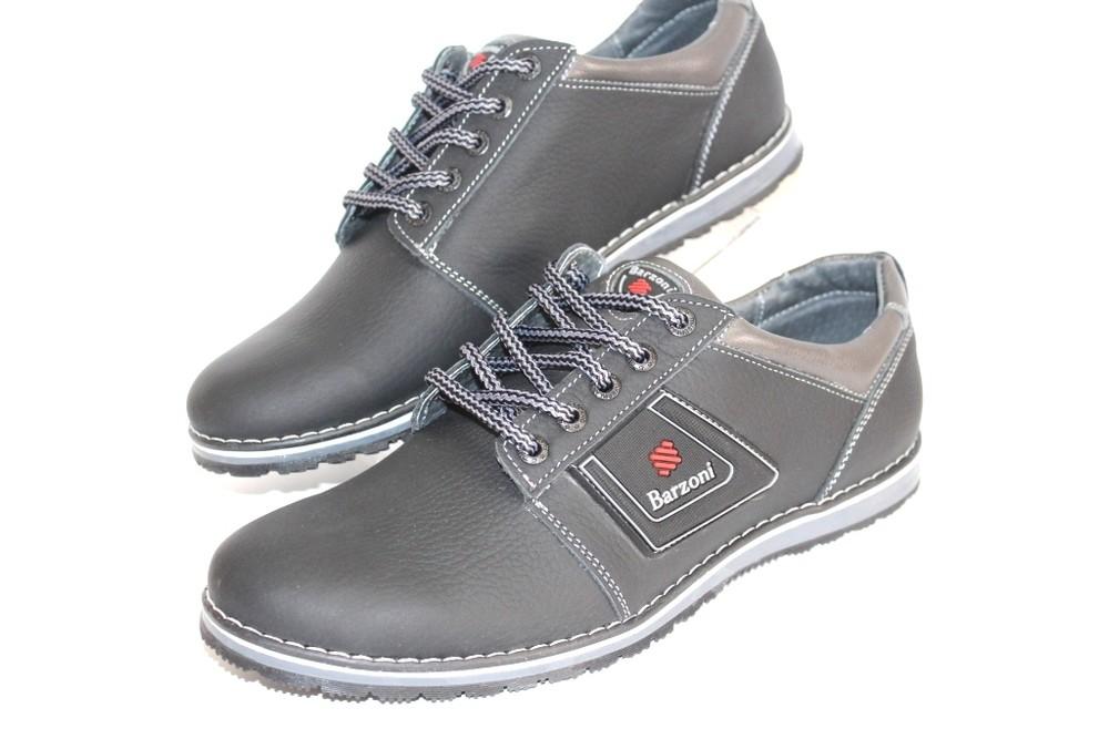 Мужские туфли, натуральная кожа, 3 цвета фото №1