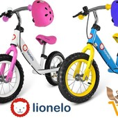 Беговел Dex Lionello в комплекте защита шлем + наколенники налокотники.