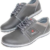 Мужские туфли, натуральная кожа, 3 цвета