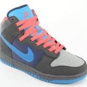 Мужские высокие осенние кроссовки Nike 42, 44 размер
