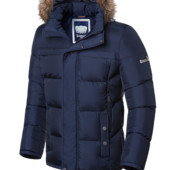 Зимняя куртка с опушкой меха Braggart -3145