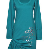 Платье Ирисы на затяжке