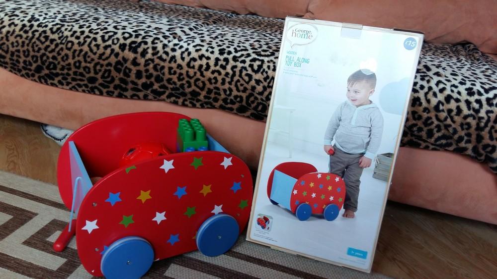 Бокс на колесах для хранения игрушек. Оригинал Англия фото №1