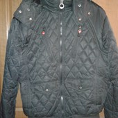 Стеганая очень теплая куртка