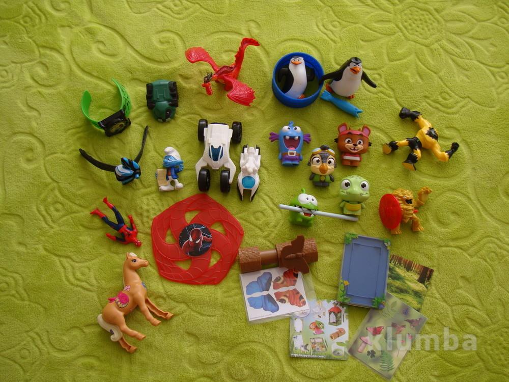 Игрушки из mcdonald's фото №1