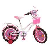Акция велосипед Профи Конфетка 16 18 дюймов Profi Candy с корзинкой для девочки