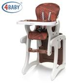4Baby Fashion стульчик-трансформер для кормления
