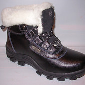 Ботинки женские черные натуральная кожа С2  р.36