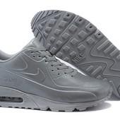 Кроссовки Nike Air Max 90 Vt tweed Leather grey