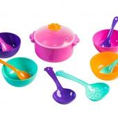 Набор игрушечной посуды столовый Ромашка 12 элементов  39143