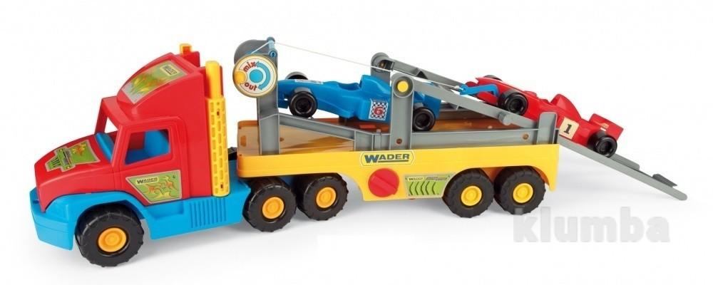 Эвакуатор Super Truck с авто Формула  36620 фото №1