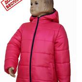 детские зимние куртки для девочек 116. 122. 128 рост