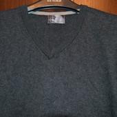Пуловер с кашемиром размер L