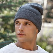 Зимняя мужская шапка в разных цветах