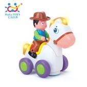 "Игрушка Huile Toys ""Ковбой на веселой лошади"""