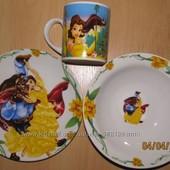 Детские наборы посуды с любимыми героями мультфильмов, ч.3