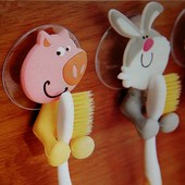 Детские держатели для зубных щеток и полотенец, более 20 видов