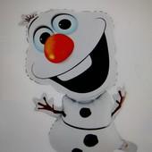 Надувной Снеговик Olaf, 72x44 cm, новый