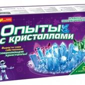 Опыты с кристаллами Набор Ranok Creative 0320 ,12114002Р