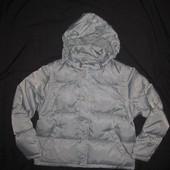 10-11 лет,  зимняя пуховая куртка Zara, натуральный пуховик!