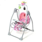 Качели шезлонг Тилли bt-sc-003 детская музыкальная колыбель кресло качалкаTilly