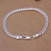 Крутой браслет, унисекс - серебро!