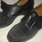 Італійські ортопедичні шкіряні туфлі жіночі-обуті 1раз