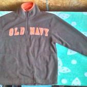 Плотная флисовая  Old Navy  кофта для мальчика 8 -9 лет ( 134 -140)