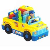 Доставка Машина-конструктор с инструментом  Huile Toys 789
