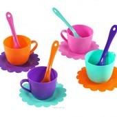 Доставка Ромашка 12 элементов 4 персоны чайный сервиз посуда Тигрес 39081