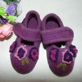 """Войлочные тапочки """"echt Walkstoff 23"""" 22/23р-р,по стельке 14,5 см.Мега выбор обуви и одежды"""