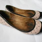 Кожаные туфли р.39