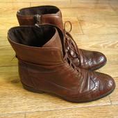 Gabor р.38 чобітки ботинки демісезон шкіра