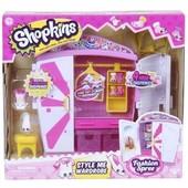 Игровой набор Shopkins-S4 -Модный гардероб (с аксессуарами, 2 эксклюзивных шопкинса, 4 мини шопк)
