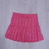 Яркая трикотажная летняя юбочка на девочку от Store twenty one, размер 8-9 лет, состояние новой вещи