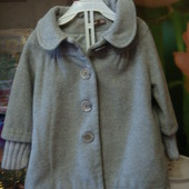 пальто демисезонное на девочку 1,6 2-3 года