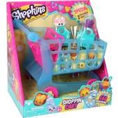 Игровой набор Shopkins S3 - Тележка (2шопкинса, 2 эксклюз сумочки) в нетоварной упаковке