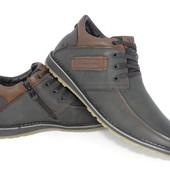 Мужские зимние ботинки Dino Albat 40-45р     м-858