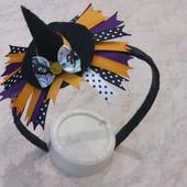 Обруч шляпа ведьмочки на Хэллоуин