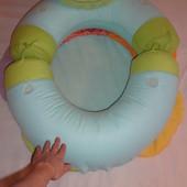 продам тренировочный надувной круг-сидение для малыша ELC.