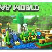 Конструктор Bela 10175 Ферма (аналог Lego Майнкрафт, Minecraft)