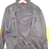 Куртка-ветровка Zara man, р-р XL (42), утепленная флисом. Состояние новой!