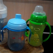 фирменные бутылочки