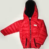 Тёплая куртка для глубокой осени или холодной весны.Размер 1-5 лет! Разные цвета!
