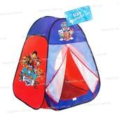 Детская игровая палатка «Щенячий патруль» (Paw patrol)